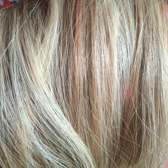 Euronext Accessories New 14 Inch Blonde Frost Hair Extensions