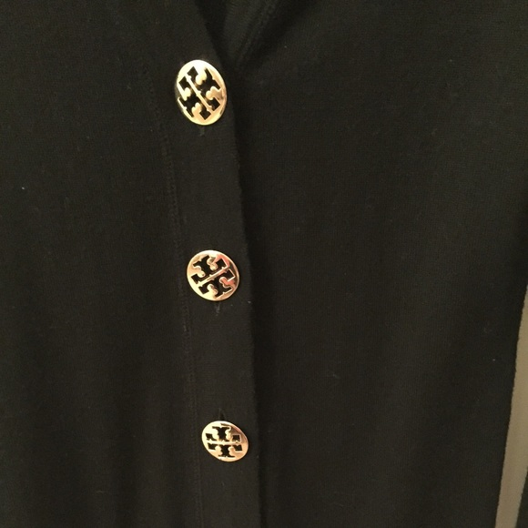 60% off Tory Burch Sweaters - Tory burch sweater black with gold ...
