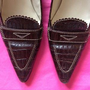 Joan & David Shoes - Joan & David Leather Low Heels