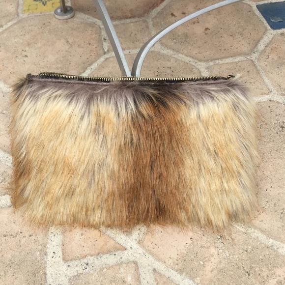df9fac3be8 ASOS Clutches   Wallets - ASOS faux fur clutch bag