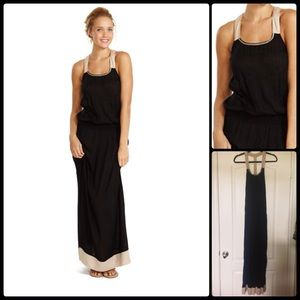 COOL CHANGE 🌞 Lily Colorblock T-Back Maxi NWT