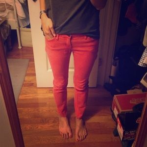 Skinny Red jeans from BDG!