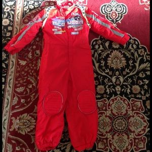 Disney Cars' McQueen costume