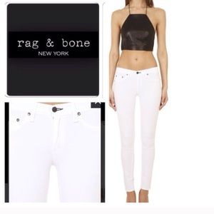 Rag Bone White Jean Legging