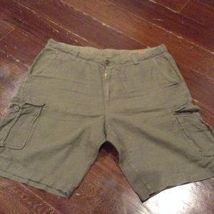 Lucky brand Green khaki shorts