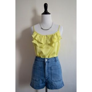 Forever 21 Tops - NWOT Cute Yellow Top!