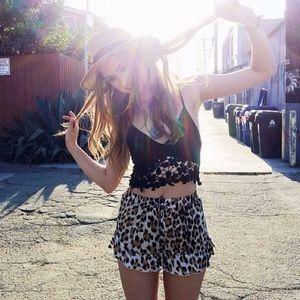 LF Other - LF cheetah soft shorts