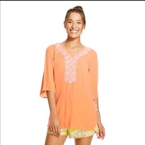 Lilly Pulitzer Tops - Lilly for Target Orange Tunic
