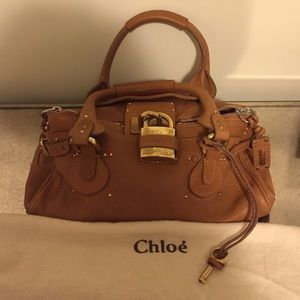 Chloe Paddington Handbag in Tan