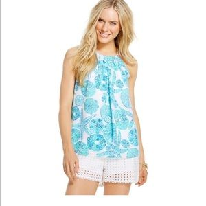 Lilly Pulitzer Tops - Lilly for Target Sea Urchin for You Halter Top