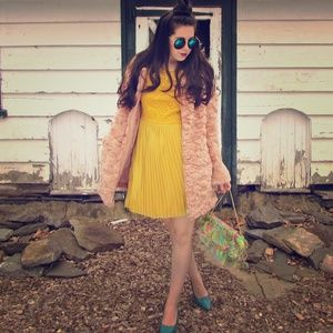 Missguided Dresses & Skirts - Yellow Dress