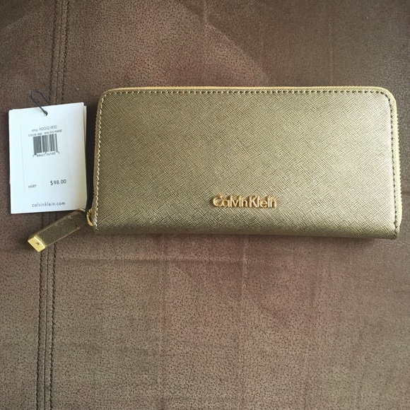 Calvin klein gold wallet
