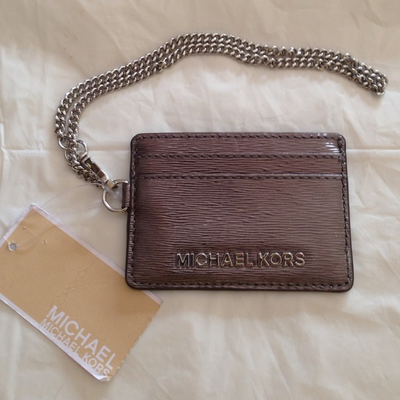 784b6199743a MK ID AND CARD HOLDER WITH CHAIN💛
