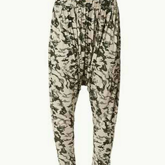 Awesome Forever 21 Desert Camo Harem Pants In Green | Lyst