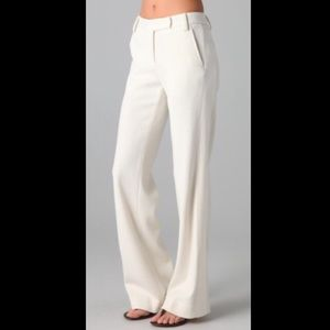 Tory Burch Brown Maureen Flared Trousers