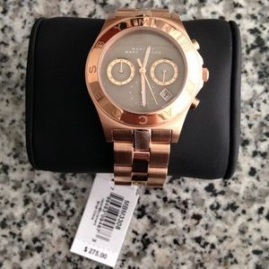 Marc by Marc Jacobs women's rose gold watch