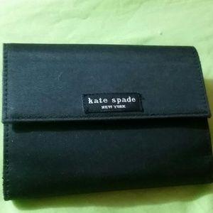 Authentic Kate Spade black wallet