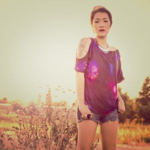 Torn by Ronny Kobo Space Galaxy Top
