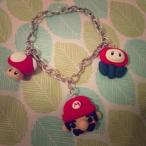 Accessories - Kawaii Video Game Nintendo Charm Bracelet