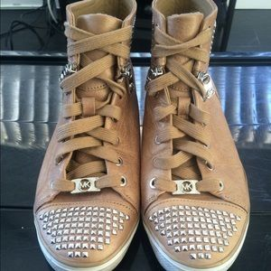 Michael Studded Boerum High Top Sneakers