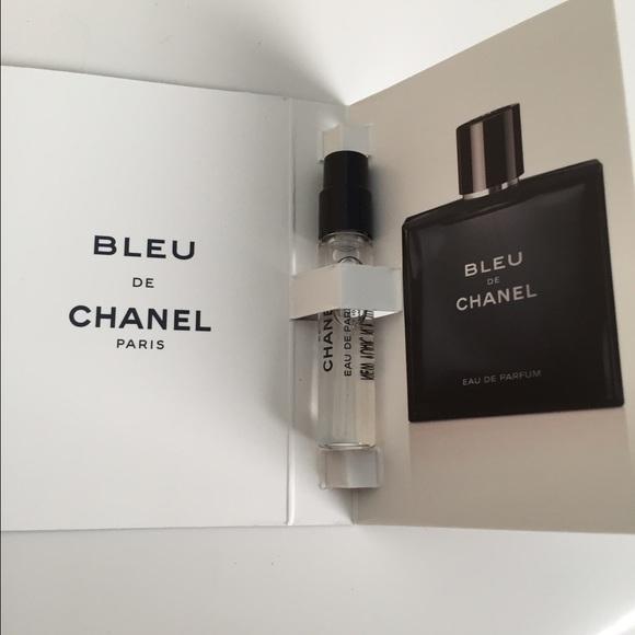 CHANEL - Men's Chanel Sample Fragrance Bleu De Chanel from ...