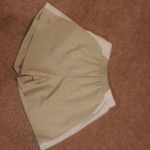 Underarmour Tan Soft Shorts