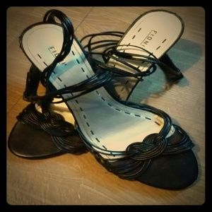 Fioni ankle strap wedge sandals