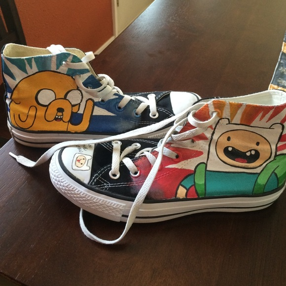 71431c043be6 Converse Shoes - Adventure Time Converse