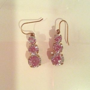 J. Crew Factory crystal earrings