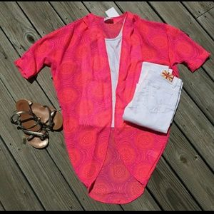 Tops - Neon paradise kimono - L