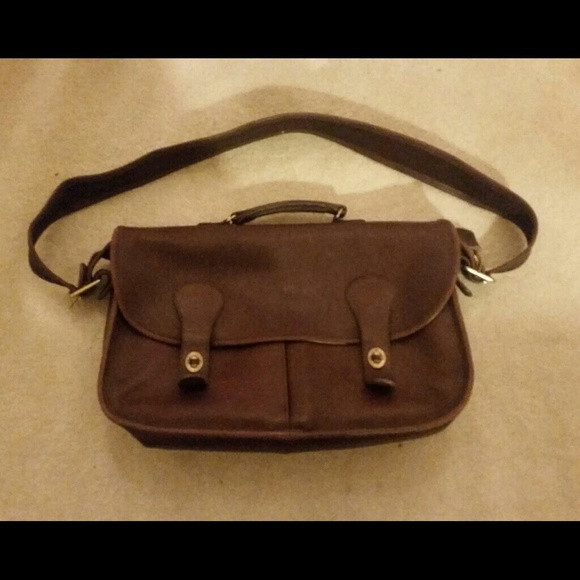 coach authentic leather coach book bag from classie s closet on poshmark