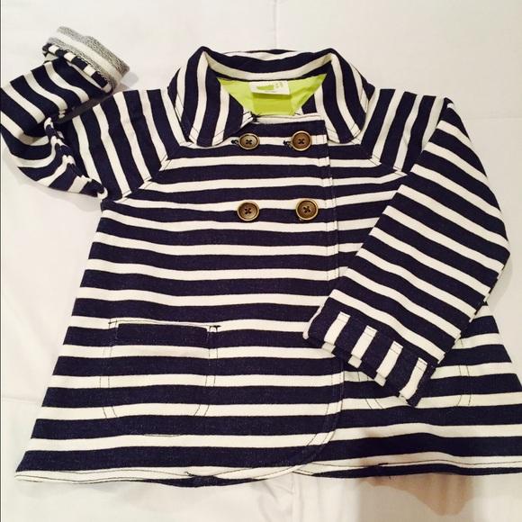 20edfec0c Crazy 8 Jackets & Coats | Toddler Girl Striped Jacket | Poshmark