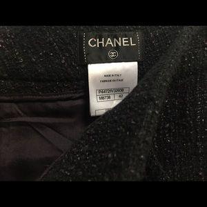 Chanel tweed pants