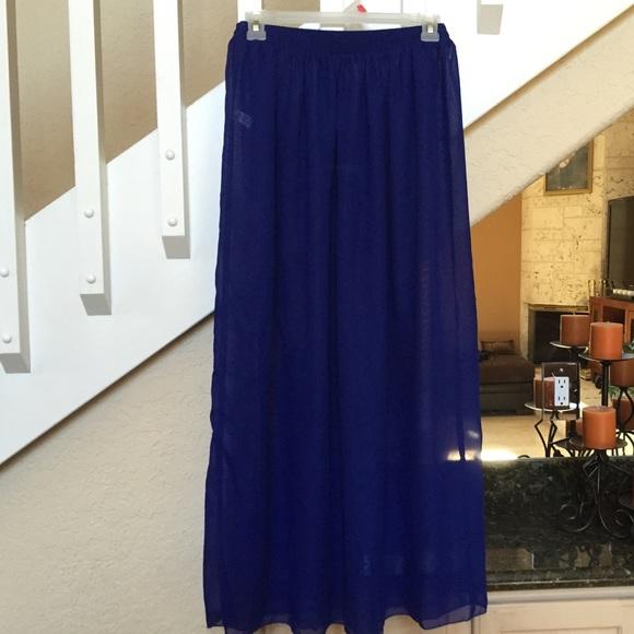87 american apparel dresses skirts blue american