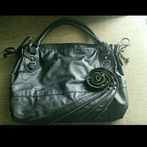 Olivia + Joy Handbags - Black Big Purse