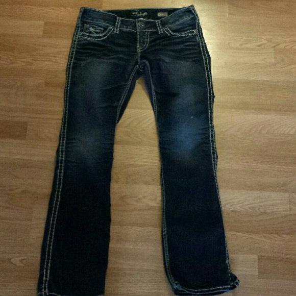 Silver Jeans - Ladies Dark Wash Silver Jeans from Stacy's closet ...