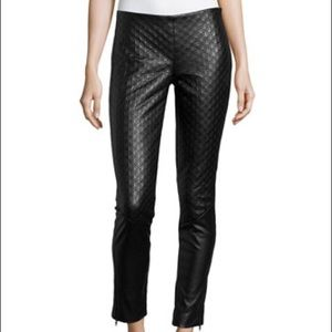 Catherine Malandrino Leather Pants