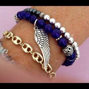 Jewelry - Gemstone 🦋Angel Wing Bracelet