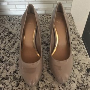 New Jessica Simpson Pumps in Pewter/Nude 8.5