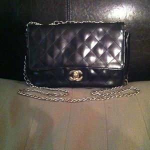 Vintage double flap bag