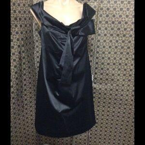 Diane von Furstenberg Dresses & Skirts - Diane Von Furstenberg black satin dress nwt