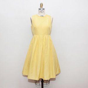 J.Crew Canary Sleeveless Dress