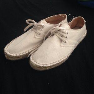 J.Crew  Lace up Espadrilles shoe