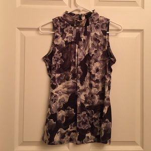 Banana Republic Silk Floral Sleeveless Top Size XS