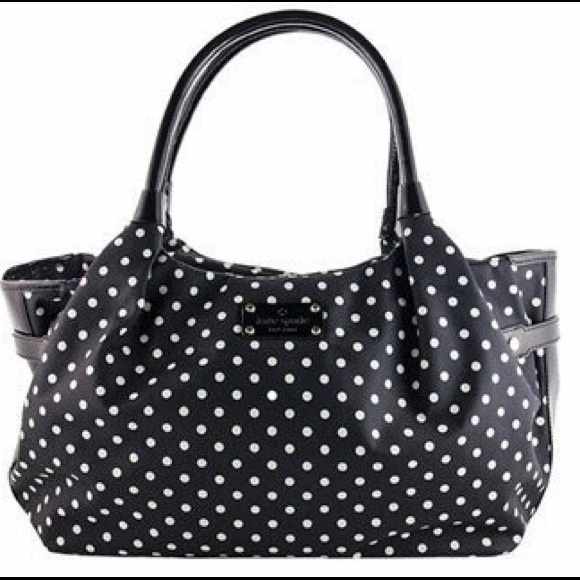 68 off kate spade handbags kate spade stevie polka dot purse kate spade stevie polka dot pursejust reduced junglespirit Gallery