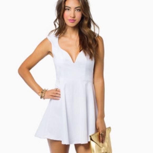 98b09218238 Valentina skater dress WHITE