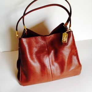 Coach Handbags - Coach NWOT Phoebe Leather Shoulder Bag
