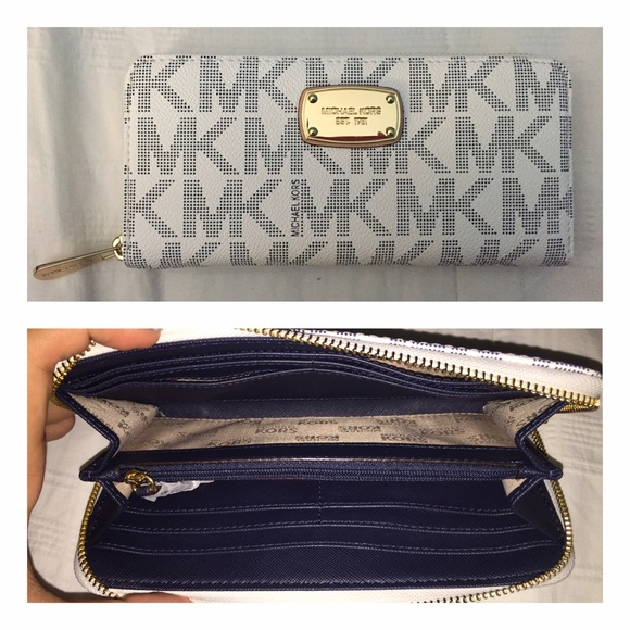3b2dff31a6c5 Michael Kors Bags | Mk Zip Around Continental Wallet Jet Set | Poshmark