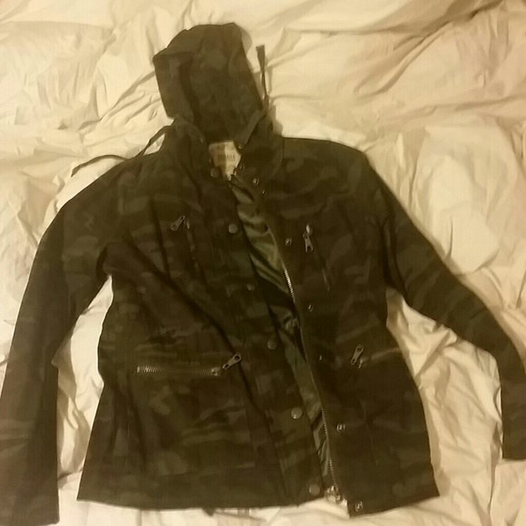 78% Off Zenana Outfitters Outerwear - Lightweight Camouflage Jacket From Lenau0026#39;s Closet On Poshmark
