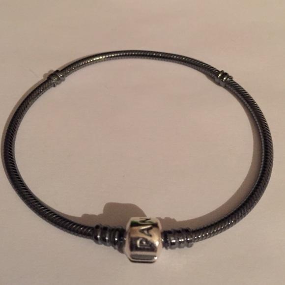 RESERVE Pandora Oxidized Sterling Silver Bracelet